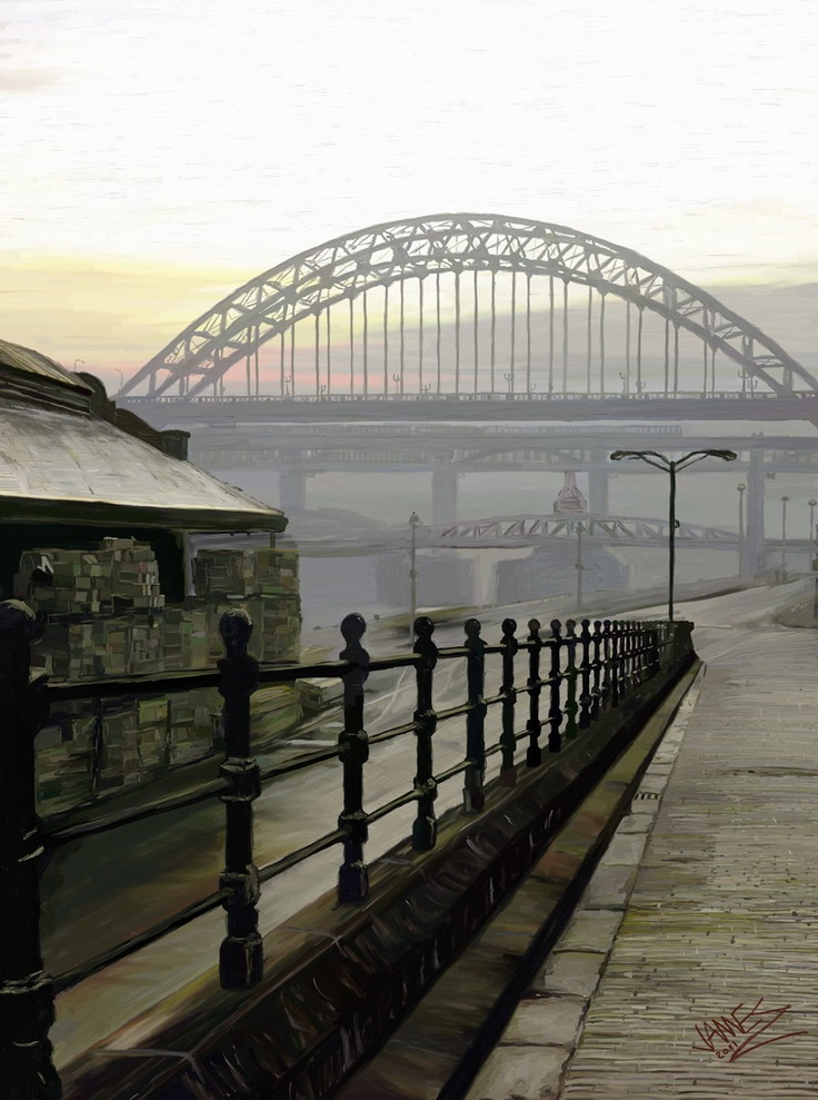 TYNE BRIDGE | TYNESIDE | TYNE & WEAR | ENGLAND: *Opened: 10 October 1928; A Through Arch Bridge, crossing the River Tyne and connecting Newcastle Upon Tyne & Gateshead*