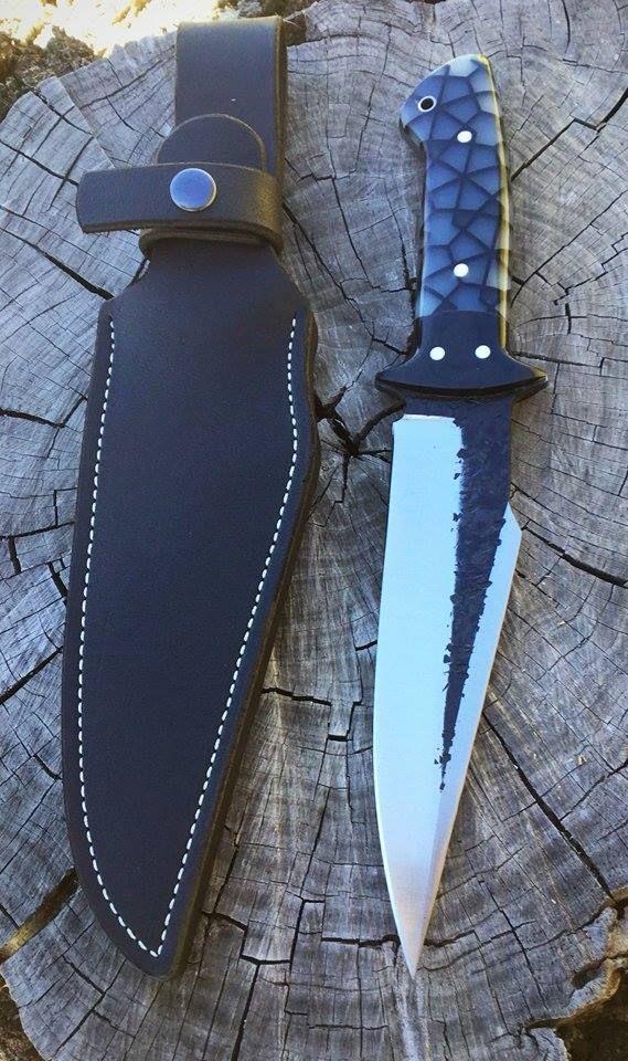 Semi Custom Handmade Black Thorn Knife by Joe Loui Knives
