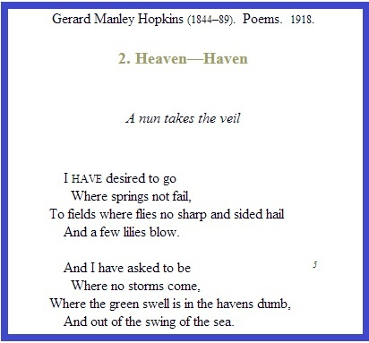 summary of the poem pied beauty Pied beauty religion quotes quote #1 glory be to god (line 1) the poem begins with an expression of christian humility in the face of god's grandeur (to quote the title of another of hopkins's poem.