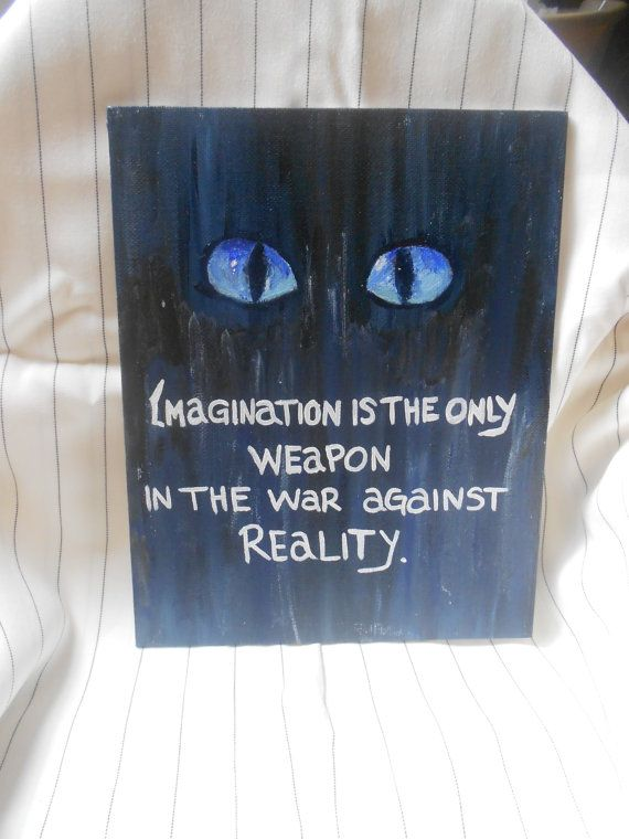 Acrylic Hand Painted / Quote Canvas Panel / by DiligentClusters