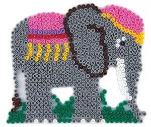 Midi Hama Bead Elephant