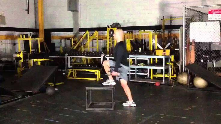 Lower body hockey workout