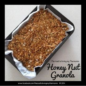The road to loving my Thermomix: Honey Nut Granola
