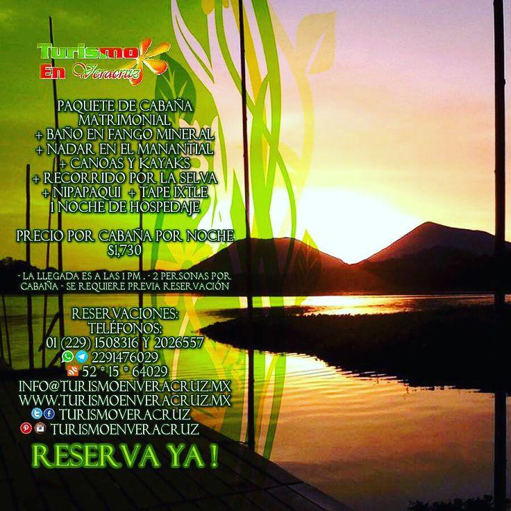 Relájate y #vive la #naturaleza en #Nanciyaga http://www.turismoenveracruz.mx/hospedaje/nanciyaga/ #Catemaco #Veracruz