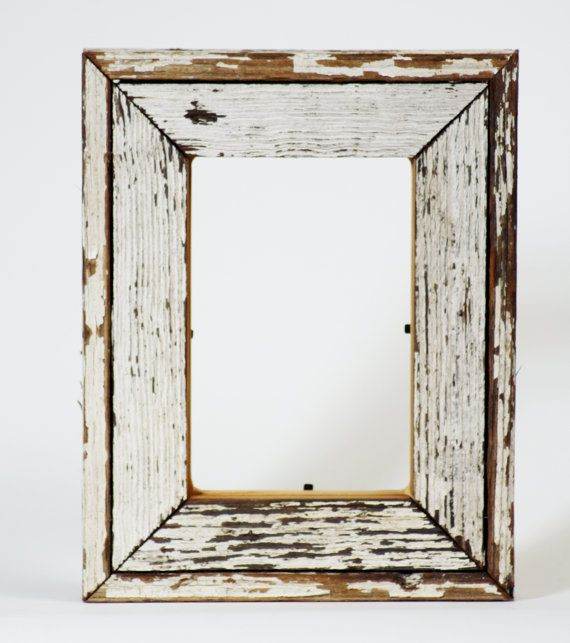 Reclaim Wood Frame - Antique Heart Pine White Frame Southern Reclaimed Wood  4x6 Ready to Ship - 25+ Best Ideas About Reclaimed Wood Picture Frames On Pinterest