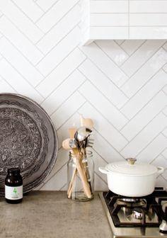 25 beste idee n over keuken tegels op pinterest metrotegels metro tegel keuken en witte tegels - Doucheruimte deco ...