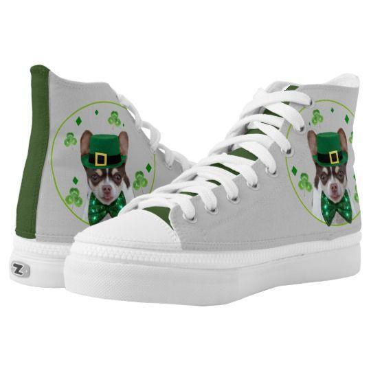 St. Patrick's Day Chihuahua high top  shoes #stpatricksday st.patricks day #shamrock #sneakers saints patricks day outfits #womensday shoes sneakers Shoes heels shoes teen shoes flats shoes boots womens shoes sneakers womens shoes flats womens shoes high heels womens shoes casual womns shoes for work mens shoes casual mens shoes with jeans mens shoes dress st patricks day shoes  #shoesoftheday #shoes zazzle produtc #irish #womensshoes #mensshoes #heels #boots canvas shoes #canvasshoes #zaz