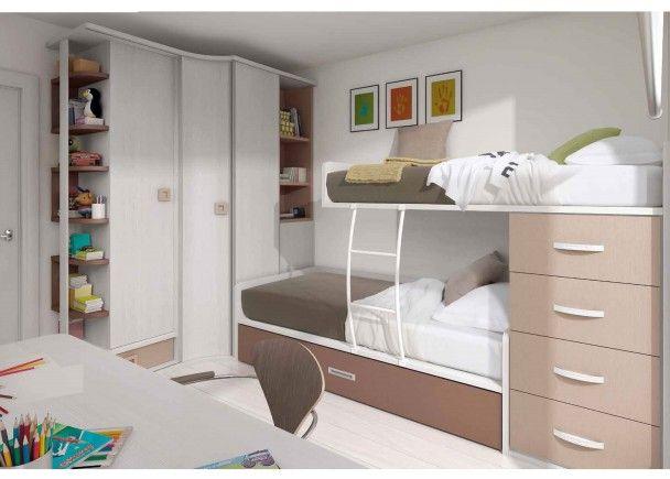 Las 25 mejores ideas sobre dormitorios individuales en - Decoracion habitacion individual ...