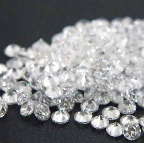 IF SQUARE RUSSIAN SIMULATED LAB DIAMOND 6AAAAAA LOOSE STONES 1.25x1.25-25x25mm
