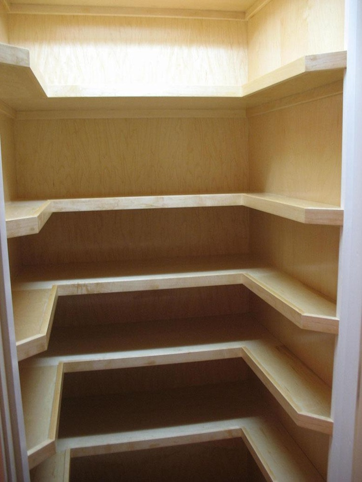 I actually have this much space in my pantry. Looks like I need to start cutting some shelves