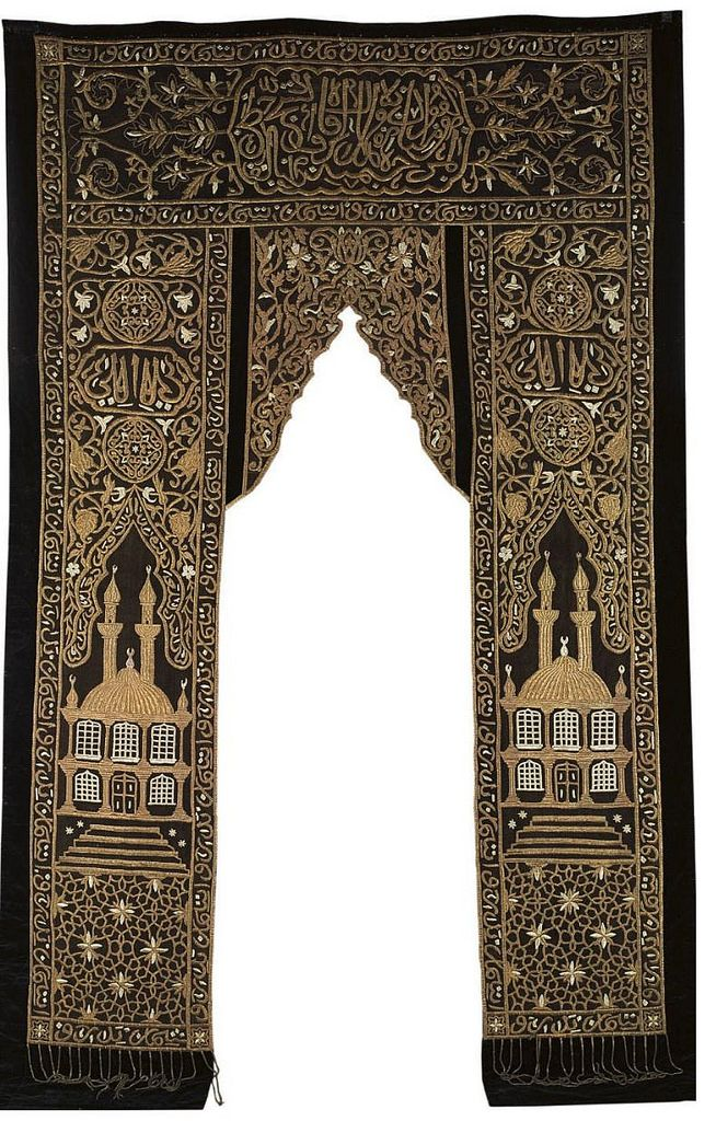 A METAL THREAD EMBROIDERED OTTOMAN PORTIERE 19 | par OTTOMAN IMPERIAL ARCHIVES