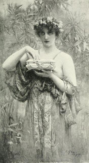 "Henrietta Rae (1859-1928), ""Pandora"""