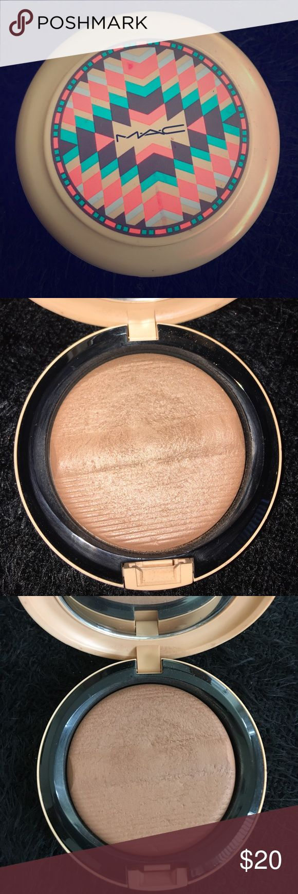LE MAC bronzer from Vibe Tribe Collection Used Makeup Bronzer