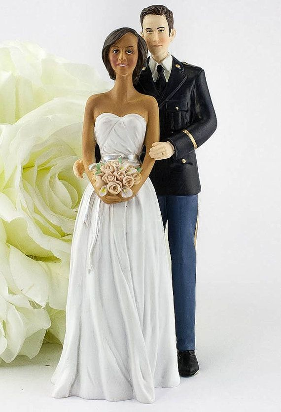Army Wedding Toppers eo army mis Military Examples of
