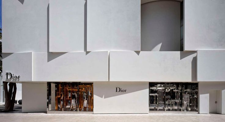 The Façade Of The New Dior Shop In Miami Is A Visual Delight