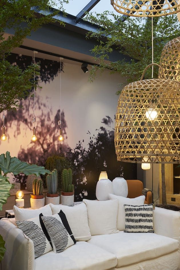 les 25 meilleures id es de la cat gorie suspension bambou sur pinterest id es de jardin en. Black Bedroom Furniture Sets. Home Design Ideas