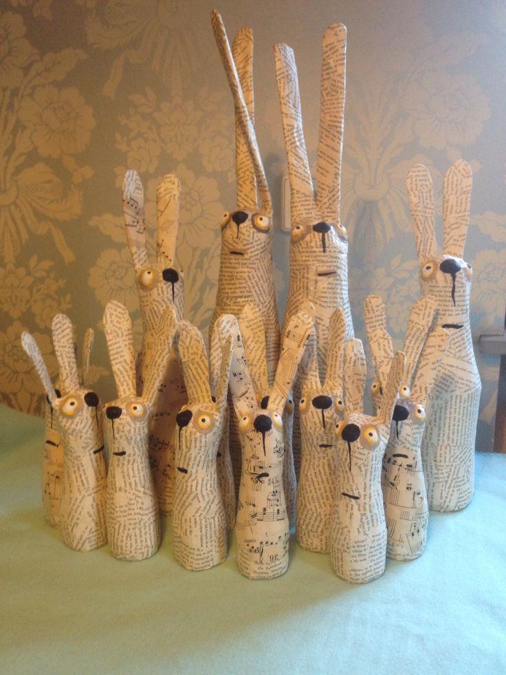 Lapins en papier mâché – #en #lapins #mache #papier – #En #Lapins