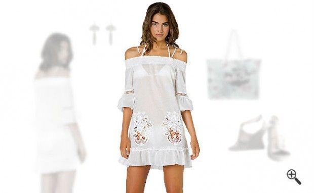 Strandkleider kurz + 3Sommer Outfits fürUschi: http://www.kleider-deal.de/strandkleider-kurz/ #Strandkleider #kurz #Sommer #Outfit #Kleider #Dress #Strand Strandkleider Sommer Outfits