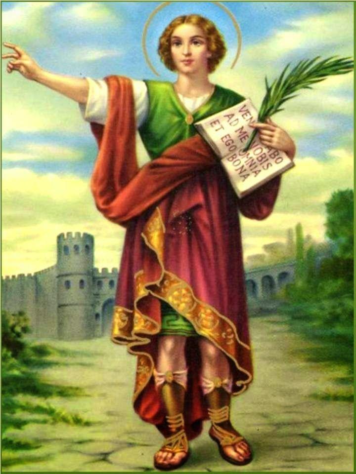 Glorioso San Pancracio,   abogado especial para alcanzar salud, dinero ytrabajo,  santo protector de los que tenemos serias dificul...