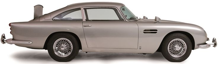 Louwman Museum; 1964 James Bond Sean Connery Aston Martin