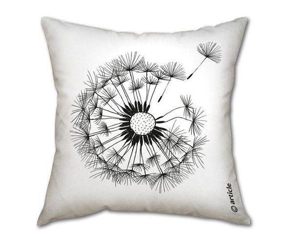 Dandelion Pillow Uncovet