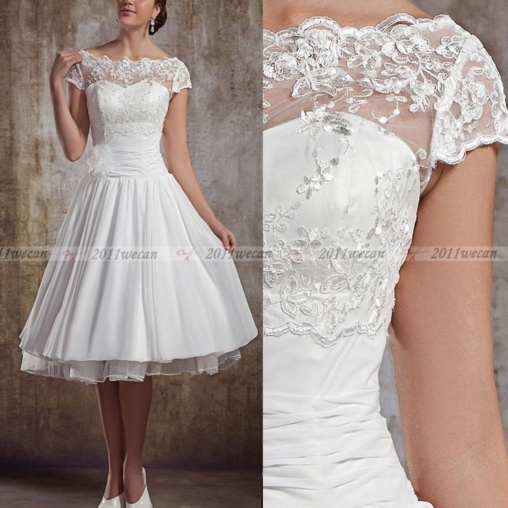 31 best 1950s style wedding dresses images on Pinterest | Wedding ...