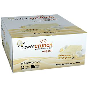 Buy Power Crunch - French Vanilla Wafer (12 Bars) from the Vitamin Shoppe. Where…