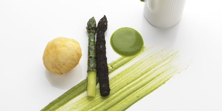 This asparagus soup recipe from Daniel Clifford, Midsummer House, is made that little bit extra special as it is served with a crispy hen's egg