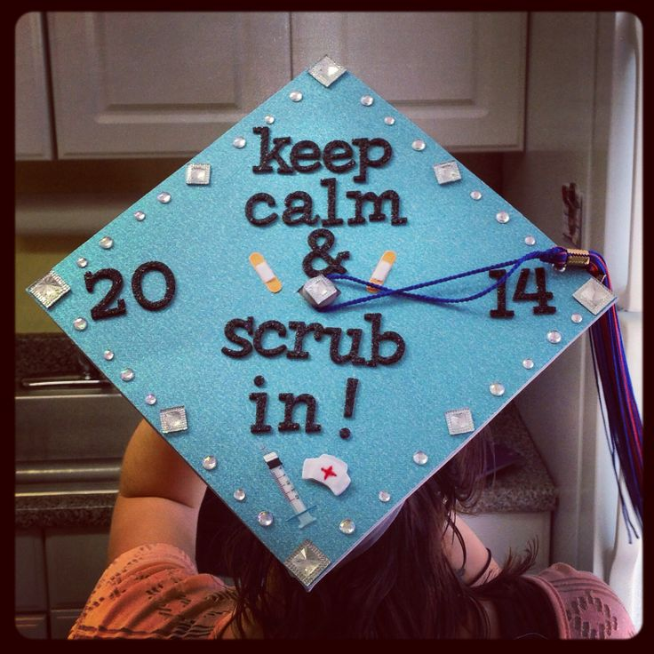 Surgical Technology Graduation Cap Keep Calm Amp Scrub In