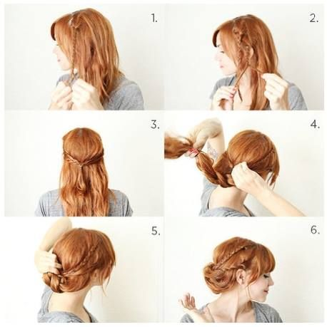 Outstanding 1000 Images About Hair On Pinterest Buns My Hair And Beauty Short Hairstyles Gunalazisus