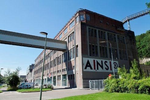 Verpakkingsgebouw cementfabriek ENCI, Maastricht, The Netherlands. 1927