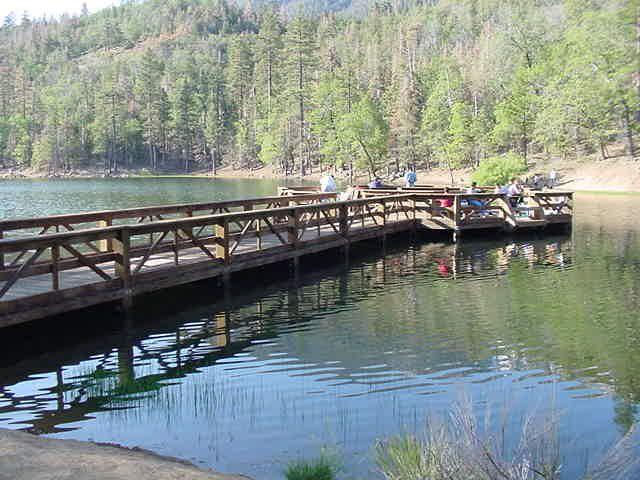 Jenks Lake - Fishing in California - directions