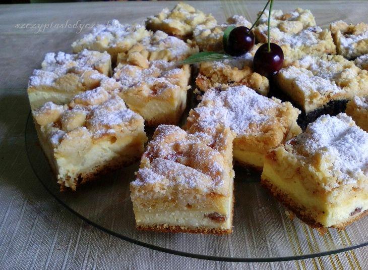 Tradycyjny kołocz śląski z serem PRZEPIS