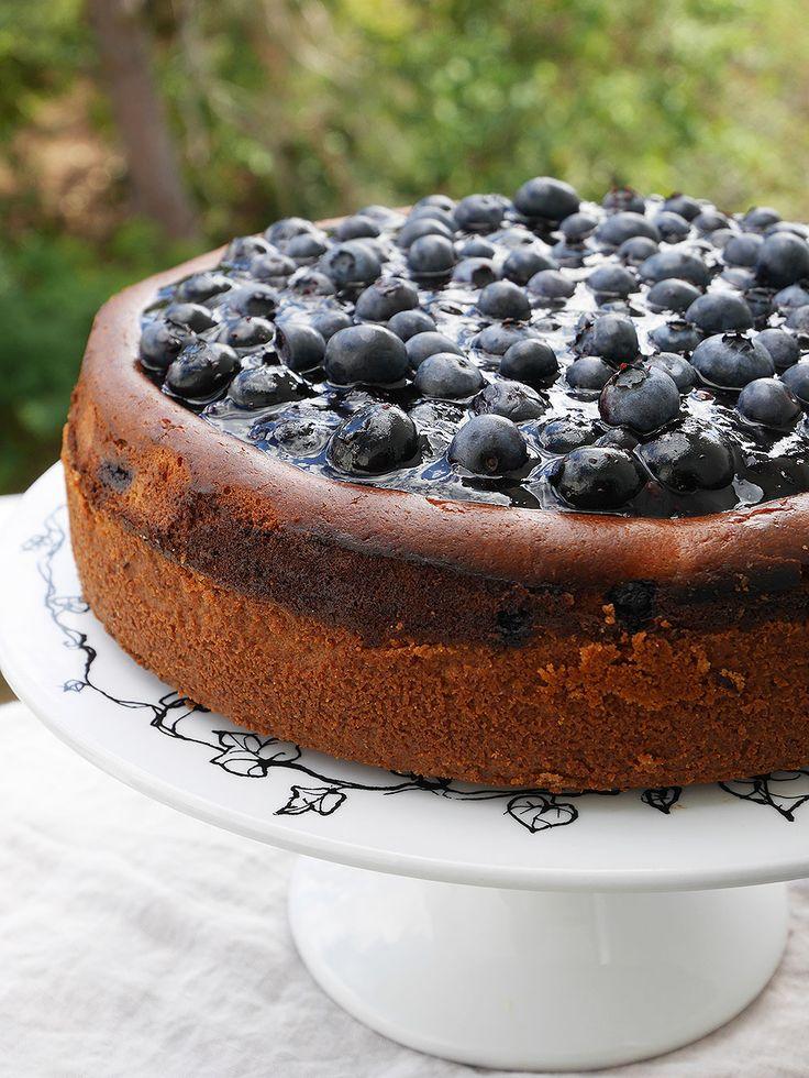 Cheesecake kan ju vara så mycket olika saker. De kan göras frusna, med gelatin, eller bakade. De som är bakade, som denna, brukar kallas för New York cheesecake. Jag har bott i New York och jag...