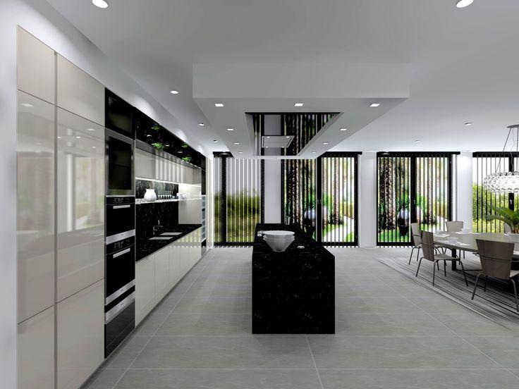 25 beste idee n over verlaagd plafond op pinterest for Fond plafond moderne