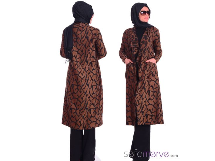 Tesettür Hırka 1035-02 - ÜCRETSİZ KARGO! - #sefamerve #tesetturgiyim #tesettur #hijab #tesettür