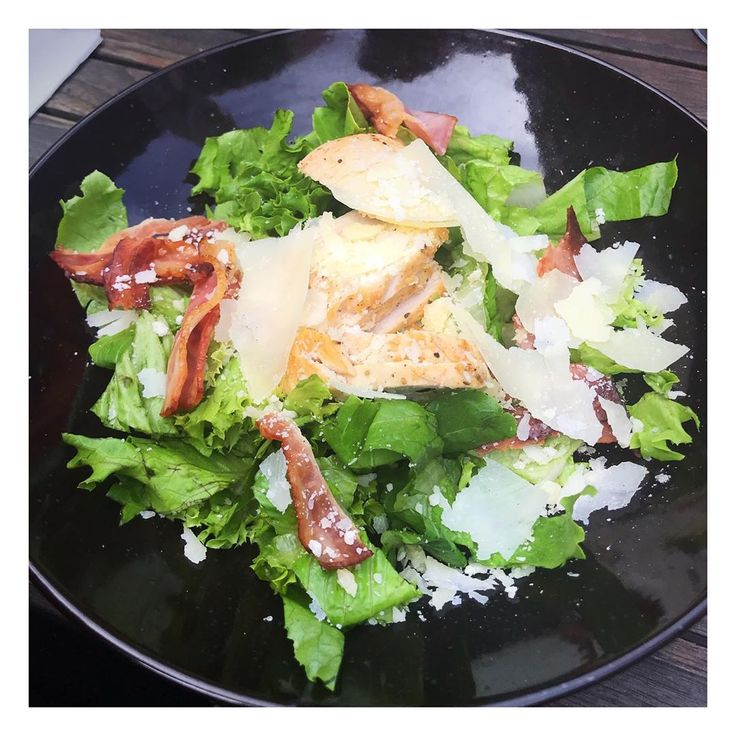 Chicken and bacon salad 😎 #lowfodmap #weightloss #fodmap #weight #healthy  – healtylife