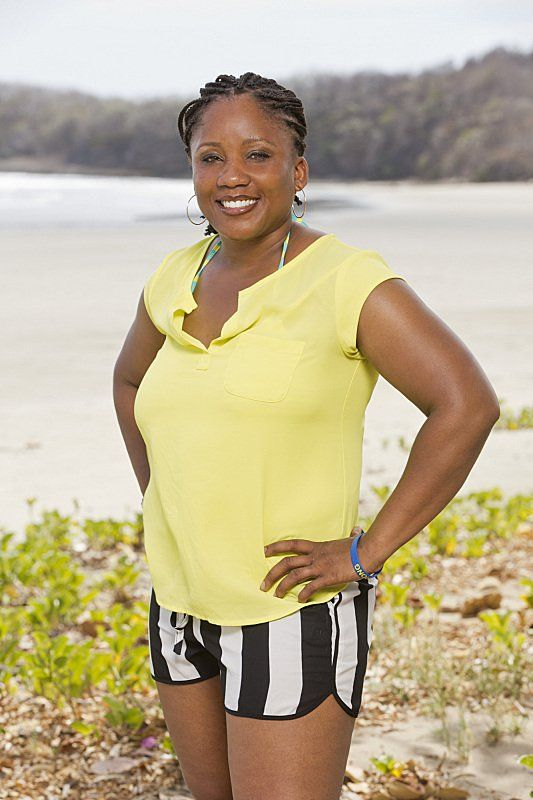 Pin for Later: Meet the New Survivor Contestants Val Collins  Age: 35 Hometown: Foxborough, MA Occupation: Police officer