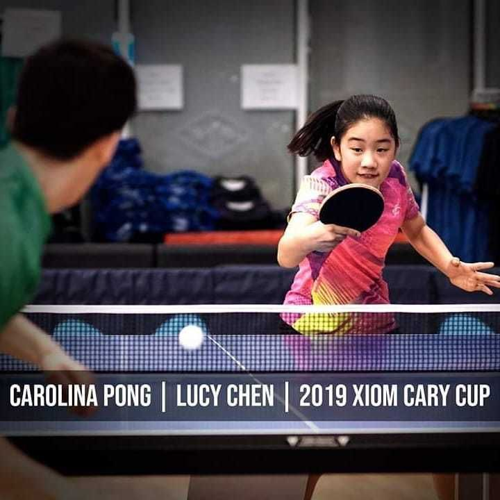 Repost Carolinapong Lucy Chen Usatt Rating 1958 Finished 2nd In Division B Of The 2019 Xiom Cary Cup Tabletennis Tenisd Ping Pong Table Tennis Cary