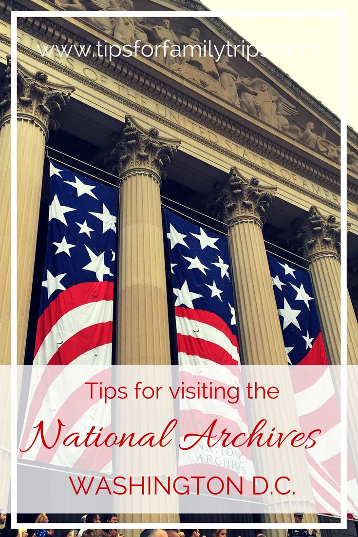 Washington Dc Map National Mall%0A Tips for visiting the National Archives Museum in Washington D C
