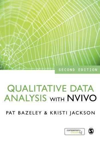 Qualitative Data Analysis with NVivo by Bazeley, Patricia Published by SAGE Publications Ltd 2nd (second) edition (2013) Paperback http://www.newlimitededition.com/qualitative-data-analysis-with-nvivo-by-bazeley-patricia-published-by-sage-publications-ltd-2nd-second-edition-2013-paperback/