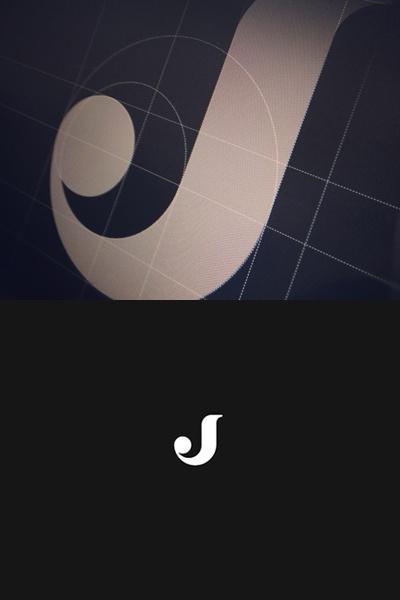 J + S + bird. Logo by Julius Seniūnas