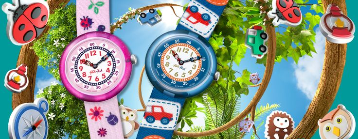 La #vueltaalcole está a la vuelta de la esquina, para incentivar a los peques y que no lleguen tarde puedes regalarles uno de los relojes Flik Flak, los #relojessuizos diseñados especialmente para los niños. Hay un montón de modelos a elegir en http://www.todo-relojes.com/marca.asp?marca=124 #relojesniños #FlikFlak #todorelojes