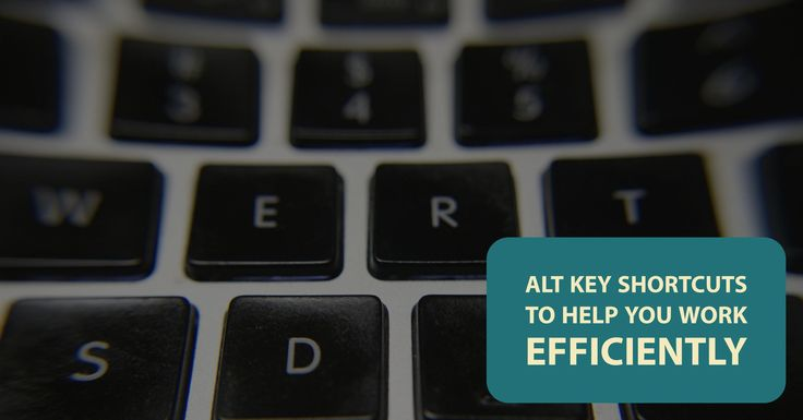 With 26 letter keys, ten numbers, around ten additional symbol keys, and some other keys such as Enter, Tab, and Backspace, it is easy to forget about the keys that appear on the bottom row: Ctrl, Alt, and the Windows key.