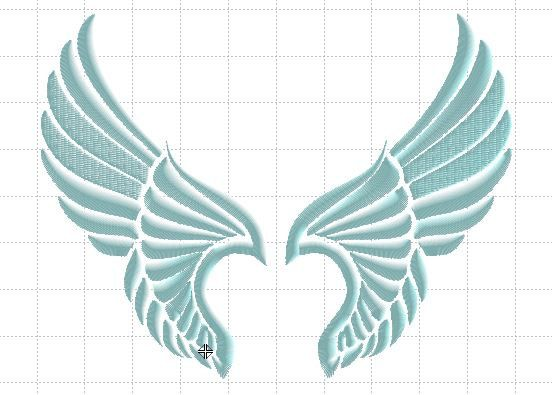 13 Best Angel Wing Embroidery Designs Images On Pinterest Angel