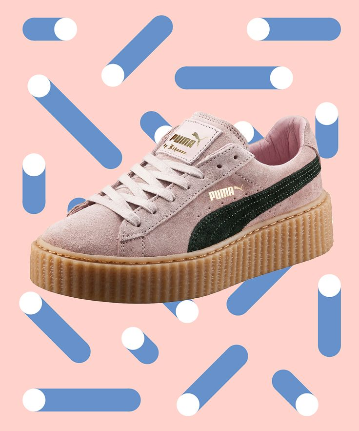 Puma Best Selling Sold Out Fenty Creepers   When Puma collaborates with Rihanna, it's no surprise the shoes have flown off the shelves. #refinery29 http://www.refinery29.com/puma-creepers-best-sellers
