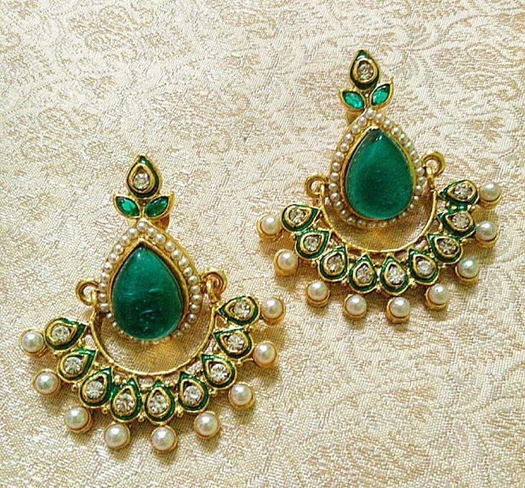Designer Bollywood Earrings