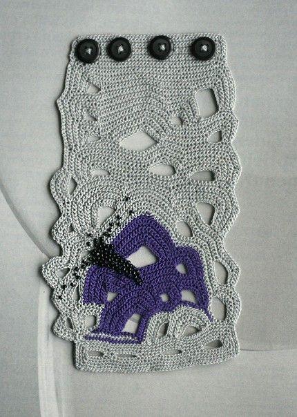 crochet cuff bracelet by ulani