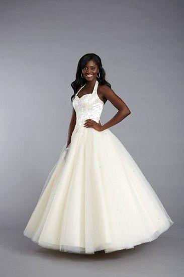 Fabulous full skirted prom dress by Tiffanys UK