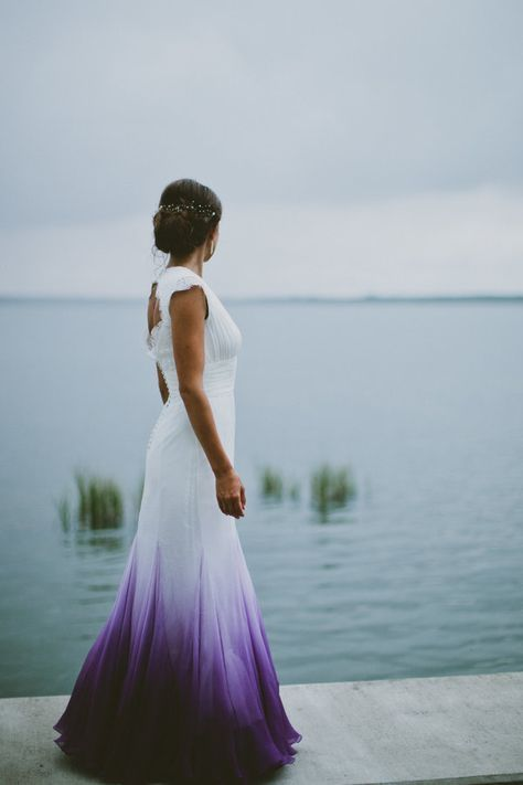 22 Ombre Wedding Dresses For Brides Who Want To Show Their True Colors   The Huffington Post